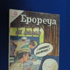EPOPEYA Nº 87 - EL RADAR - NOVARO 1965