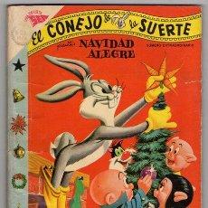 Tebeos: EL CONEJO DE LA SUERTE # EXTRAORDINARIO 96 PAG 1958 PORKY, MARY JUANA, ELMER EXCELENTE ESTADO. Lote 45635003