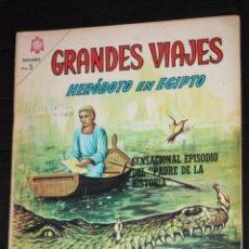 Tebeos: GRANDES VIAJES , Nº 33 : HERÓDOTO EN EGIPTO. Lote 45729703