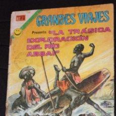 Tebeos: GRANDES VIAJES , Nº 119 : LA TRÁGICA EXPLORACIÓN DEL RÍO ABBAI. Lote 45729808