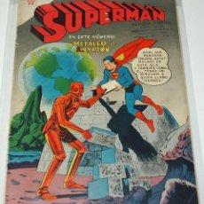 Tebeos: SUPERMAN Nº 102 - NOVARO ORIGINAL - BUEN ESTADO. Lote 45768770