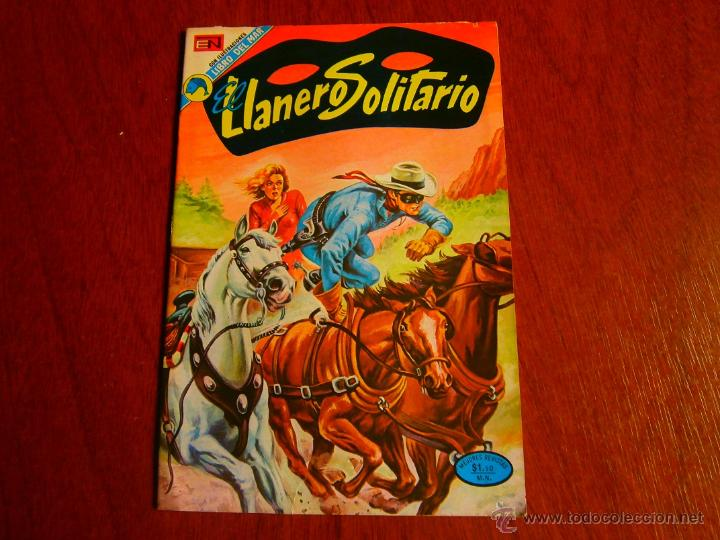 EL LLANERO SOLITARIO #295 - ORIGINAL EDITORIAL NOVARO (Tebeos y Comics - Novaro - El Llanero Solitario)