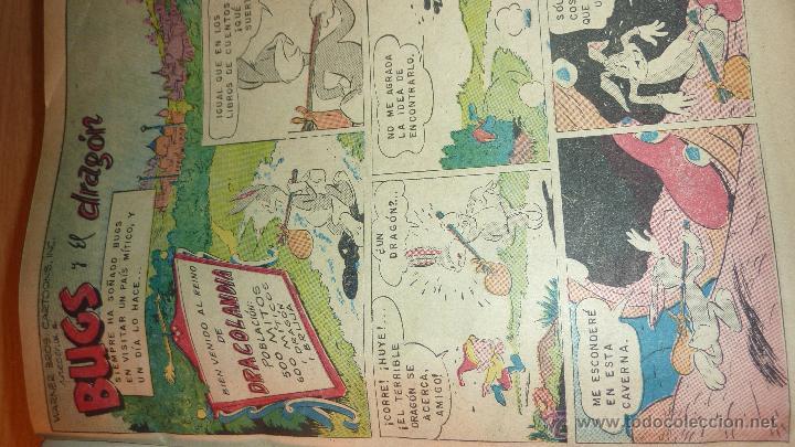 Tebeos: Lote 20 tebeos Bugs Bunny Novaro conejo de la suerte . encuadernados pato lucas - Foto 6 - 46160139