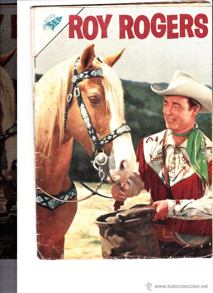ROY ROGERS Nº55 MARZO 1957 (Tebeos y Comics - Novaro - Roy Roger)