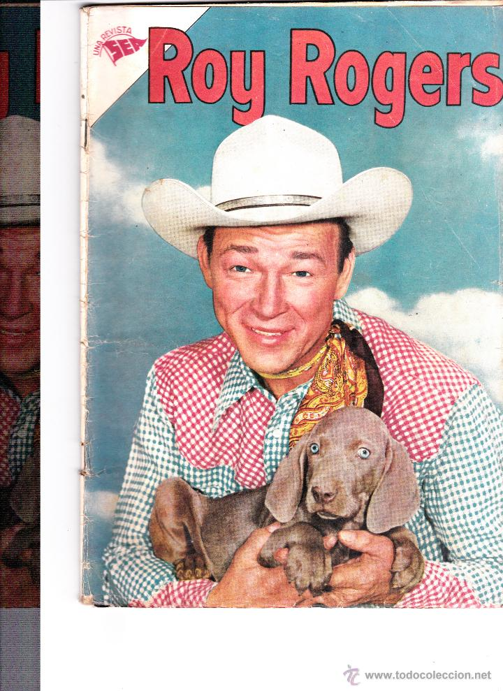 ROY ROGERS Nº41 ENERO 1956 (Tebeos y Comics - Novaro - Roy Roger)