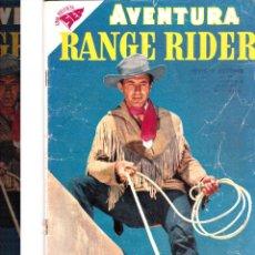 Tebeos: AVENTURA RANGE RIDER Nº 73 DICIEMBRE 1957. Lote 46324110