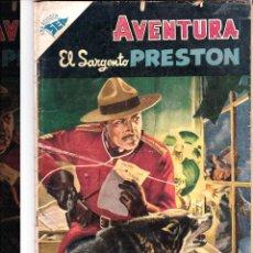 Tebeos: AVENTURA EL SARGENTO PRESTON Nº 31 MARZO 1956. Lote 46324184