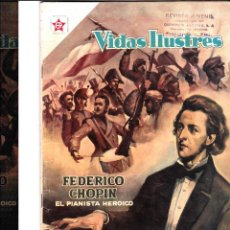 Tebeos: FEDERICO CHOPIN EL PIANISTA HEROICO Nº18 JULIO 1957. Lote 46324359