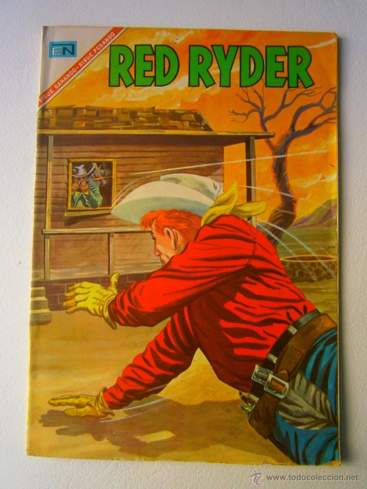 RED RYDER N° 152 - ORIGINAL EDITORIAL NOVARO (Tebeos y Comics - Novaro - Red Ryder)