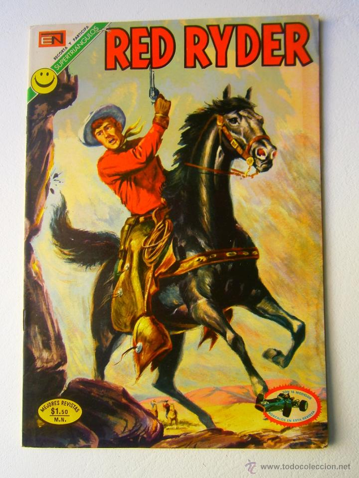 RED RYDER N° 283 - ORIGINAL EDITORIAL NOVARO (Tebeos y Comics - Novaro - Red Ryder)