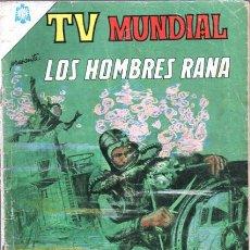 Tebeos: TV MUNDIAL # 41 NOVARO 1964 - - LOS HOMBRES RANA. Lote 38866093
