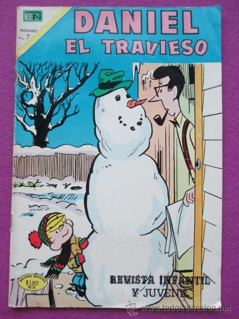 TEBEO DANIEL EL TRAVIESO, NOVARO, REVISTA INFANTIL Y JUVENIL, AÑO VI, Nº67 (Tebeos y Comics - Novaro - Otros)