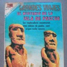 Tebeos - Novaro,Grandes Viajes,el Misterio de la isla de Pascua,años 70,es el tebeo de la foto - 46710351