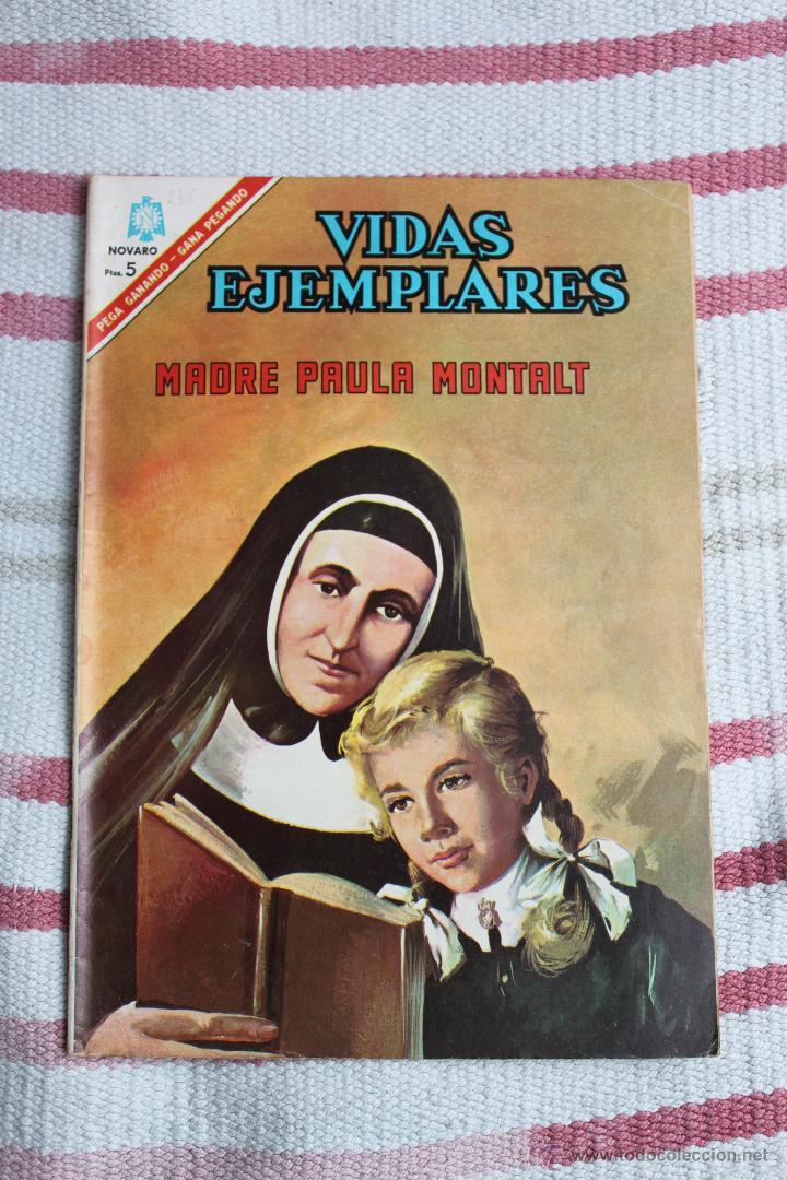 NOVARO : VIDAS EJEMPLARES Nº 235: MADRE PAULA MONTALT (Tebeos y Comics - Novaro - Vidas ejemplares)