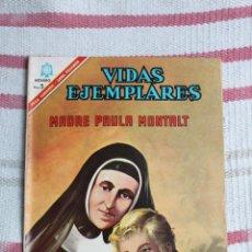 Tebeos: NOVARO : VIDAS EJEMPLARES Nº 235: MADRE PAULA MONTALT. Lote 46795182
