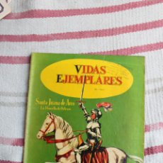 BDs: NOVARO : VIDAS EJEMPLARES Nº 9: SANTA JUANA DE ARCO. Lote 46808047