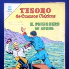 Tebeos: EDITORIAL NOVARO TESORO DE CUENTOS CLÁSICOS AÑO VII Nº 84 LEÓN TOLSTOI AÑO 1964 AÑOS 60. Lote 46875477