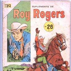 Tebeos: ROY ROGERS EXTRA # 26 NOVARO 1974 EJEMPLARES # 293, 294 & 295 MUY BUEN ESTADO 96 PAGINAS. Lote 46880108