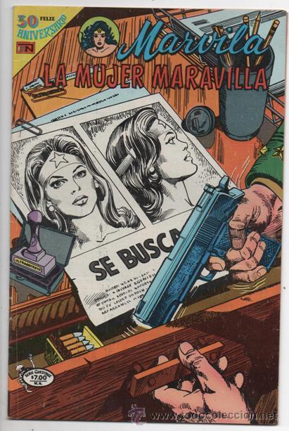 MARVILA # 3-241 AVESTRUZ NOVARO 1981 MUJER MARAVILLA CONWAY & GIELLA CHARLES MOULTON EXCELENTE (Tebeos y Comics - Novaro - Sci-Fi)