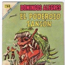 Tebeos: DOMINGOS ALEGRES # 763 NOVARO 1968 EL PODEROSO SANSON MIGHTY SAMSON # 8 EXCELENTE. Lote 47711096