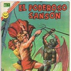Tebeos: EL PODEROSO SANSON # 1 NOVARO 1972 ANGELES INFERNALES MIGHTY SAMSON EXCELENTE. Lote 47719451