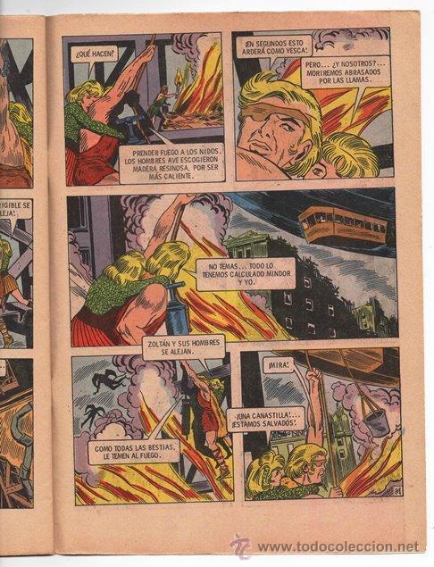 Tebeos: EL PODEROSO SANSON # 1 NOVARO 1972 ANGELES INFERNALES MIGHTY SAMSON EXCELENTE - Foto 3 - 47719451
