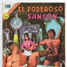 Tebeos: EL PODEROSO SANSON # 3 NOVARO 1972 UNA APACIBLE NOCHE MIGHTY SAMSON EXCELENTE. Lote 47724984