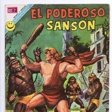Tebeos: EL PODEROSO SANSON # 4 NOVARO 1972 PANICO MIGHTY SAMSON EXCELENTE. Lote 47724990
