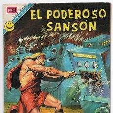 Tebeos: EL PODEROSO SANSON # 7 NOVARO 1972 LA AMENAZA DEL MAR MIGHTY SAMSON EXCELENTE. Lote 47725003
