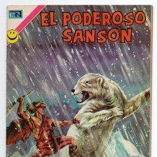Tebeos: EL PODEROSO SANSON # 8 NOVARO 1972 DILUVIO DE HIELO MIGHTY SAMSON EXCELENTE. Lote 47725006