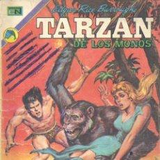 Tebeos: TARZÁN Nº325. NOVARO, 1972. HISTORIETAS DE KUBERT Y FOSTER. BIOGRAFÍA DE BURROUGHS CON FOTO. Lote 47741366