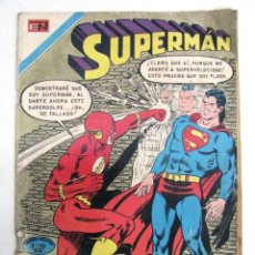 Tebeos: ANTIGUA REVISTA COMIC SUPERMAN VS FLASH EDITORIAL NOVARO MEXICO AÑO XIX Nº 784 AÑO 1970. Lote 47763660