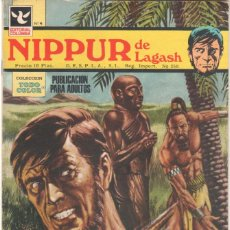 Tebeos: NIPPUR DE LAGASH Nº 4 EDITORAL COLUMBIA 1972 - 26 X 17,5 CMS. 38 PGS. A COLOR. Lote 223675116