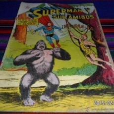 Tebeos: SUPERMAN Y SUS AMIGOS Nº 11. NOVARO 1956. JAIME OSEN EL SALVAJE. MUY DIFÍCIL!!!!!!. Lote 47890111