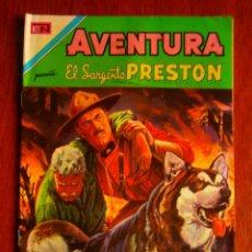 Tebeos: EL SARGENTO PRESTON! - AVENTURA N° 705 - ORIGINAL EDITORIAL NOVARO. Lote 47891608