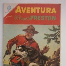 Tebeos: EL SARGENTO PRESTON! - AVENTURA N° 451 - ORIGINAL EDITORIAL NOVARO. Lote 47891671