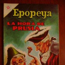 Tebeos: EPOPEYA N° 48 - LA HORA DE PRUSIA - ORIGINAL EDITORIAL NOVARO. Lote 47913468