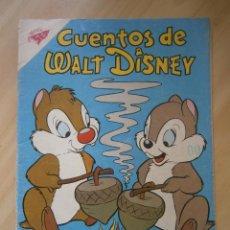 Tebeos: CHIP Y DALE! - CUENTOS DE WALT DISNEY N° 184 - ORIGINAL EDITORIAL NOVARO. Lote 48010844