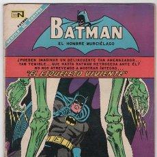 Tebeos: BATMAN # 446 NOVARO 1968 EL ESQUELETO VIVIENTE MUY BUEN ESTADO. Lote 48301561
