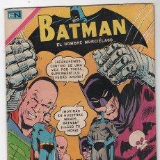 Tebeos: BATMAN # 508 NOVARO 1969 SUPERMAN, FLASH & JULIO JORDAN MUY BUEN ESTADO. Lote 48308841
