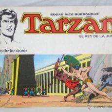Tebeos: CÓMIC TARZÁN EL REY DE LA JUNGLA. Nº 1. LA CUNA DE LOS DIOSES - ED. NOVARO, AÑO 1976. Lote 48309844