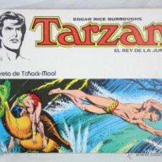 Tebeos: CÓMIC TARZÁN EL REY DE LA JUNGLA. Nº 6. EL SECRETO DE T'CHACK-MOOL - ED. NOVARO, AÑO 1977. Lote 48309880