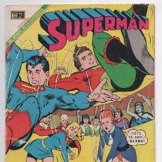 Tebeos: SUPERMAN # 703 NOVARO 1969 LEGION SUPERHEROES SUPERMAN BRAINIAC ULTRA ASTRO EXCELENTE. Lote 48313661