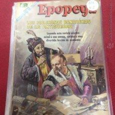 Tebeos: NOVARO - EPOPEYA - NUMERO 122. Lote 48593364