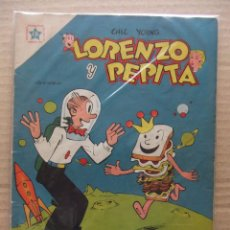 Tebeos: LORENZO Y PEPITA Nº 22 EDICIONES RECREATIVAS (NOVARO) JULIO DE 1954. Lote 48710852