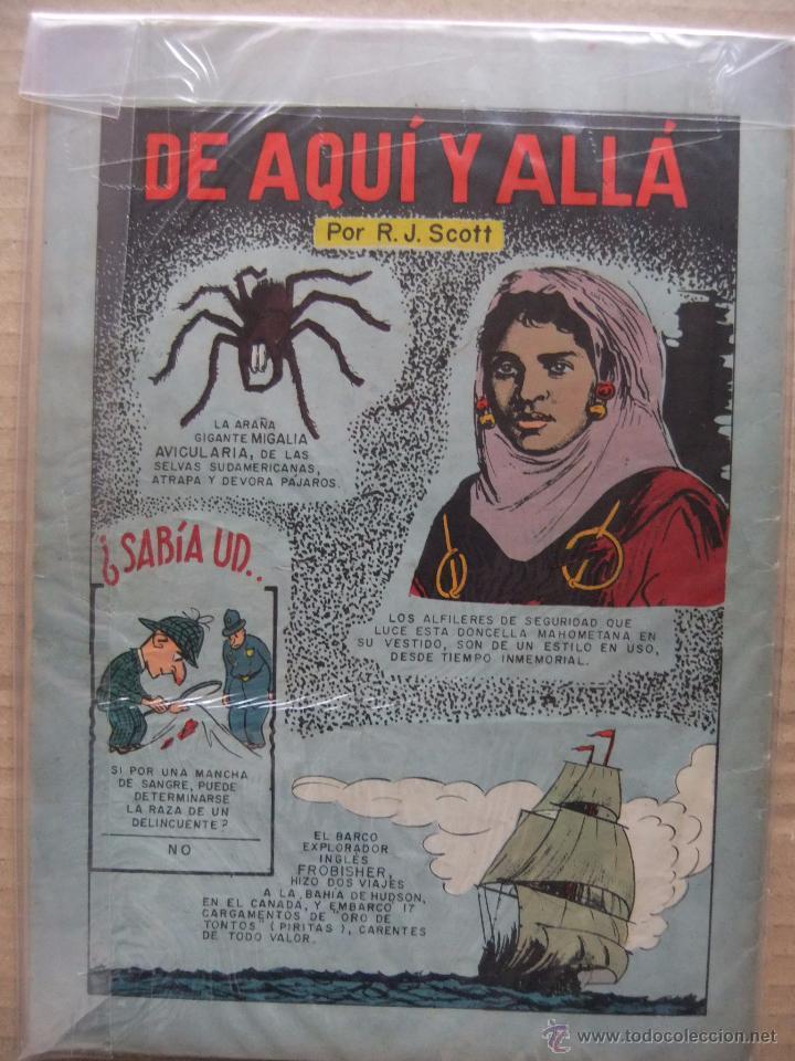 Tebeos: LORENZO Y PEPITA Nº 22 EDICIONES RECREATIVAS (NOVARO) JULIO DE 1954 - Foto 2 - 48710852