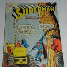 Tebeos: NOVARO - SUPERMAN NUMERO 202 - 2 DE SEPTIEMBRE DE 1959 - BUEN ESTADO - MIDE 25,5 X 18 CMS.. Lote 48768927