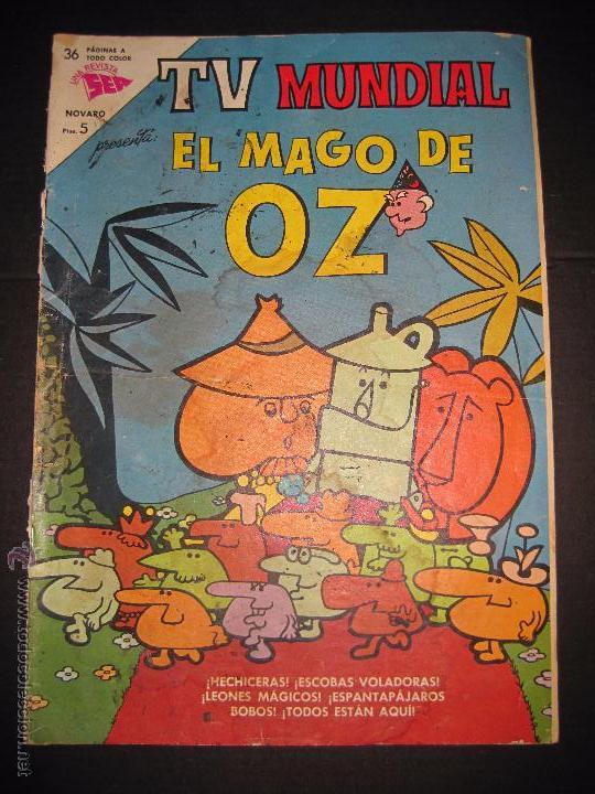 TV MUNDIAL - EL MAGO DE OZ - NUM 18 - 15 NOVIEMBRE 1963 (Tebeos y Comics - Novaro - Otros)