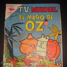 Tebeos: TV MUNDIAL - EL MAGO DE OZ - NUM 18 - 15 NOVIEMBRE 1963 . Lote 48868997