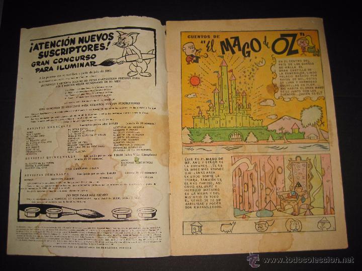 Tebeos: TV MUNDIAL - EL MAGO DE OZ - NUM 18 - 15 NOVIEMBRE 1963 - Foto 2 - 48868997